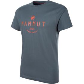 Mammut Seile - Camiseta manga corta Hombre - gris
